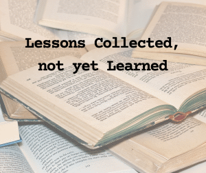 Lessons Collected Picture